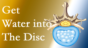 Yorkville Chiropractic and Wellness Centre uses spinal manipulation and exercise to boost the diffusion of water into the disc which supports the health of the disc.