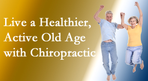 Yorkville Chiropractic and Wellness Centre welcomes older patients to incorporate chiropractic into their healthcare plan for pain relief and life's fun.