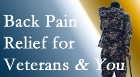 Yorkville Chiropractic and Wellness Centre cares for veterans with back pain and PTSD and stress.