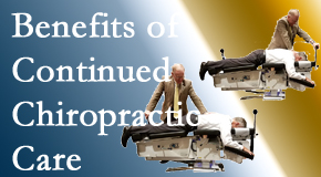 Yorkville Chiropractic and Wellness Centre offers continued chiropractic care (aka maintenance care) as it is research-documented as effective.