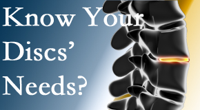 Your Toronto chiropractor thoroughly understands spinal discs and what they need nutritionally. Do you?