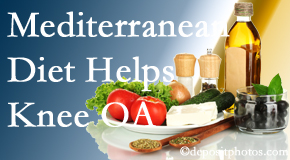 Yorkville Chiropractic and Wellness Centre shares recent research about how good a Mediterranean Diet is for knee osteoarthritis as well as quality of life improvement.