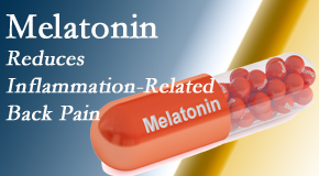 Yorkville Chiropractic and Wellness Centre presents new findings that melatonin interrupts the inflammatory process in disc degeneration that causes back pain.