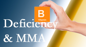 Yorkville Chiropractic and Wellness Centre knows B vitamin deficiencies and MMA levels may affect the brain and nervous system functions.