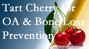 Yorkville Chiropractic and Wellness Centre shares that tart cherries may improve bone health and prevent osteoarthritis.