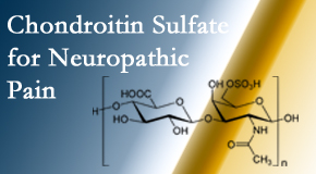 Yorkville Chiropractic and Wellness Centre finds chondroitin sulfate to be an effective addition to the relieving care of sciatic nerve related neuropathic pain.