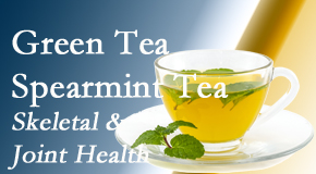 Yorkville Chiropractic and Wellness Centre shares the benefits of green tea on skeletal health, a bonus for our Toronto chiropractic patients.
