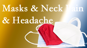 Yorkville Chiropractic and Wellness Centre shares how mask-wearing may trigger neck pain and headache which chiropractic can help alleviate.