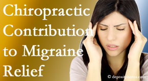 Yorkville Chiropractic and Wellness Centre use gentle chiropractic treatment to migraine sufferers with related musculoskeletal tension wanting relief.