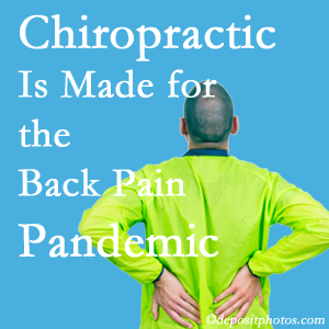 Toronto chiropractic care at Yorkville Chiropractic and Wellness Centre is well-equipped for the pandemic of low back pain.