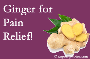 Toronto chronic pain and osteoarthritis pain patients will want to check out ginger for its many varied benefits not least of which is pain reduction.