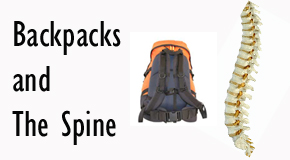 picture of a backpack and spine