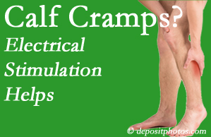 Toronto calf cramps associated with back conditions like spinal stenosis and disc herniation find relief with chiropractic care's electrical stimulation.