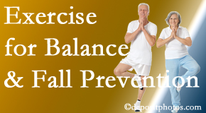 Toronto chiropractic care of balance for fall prevention involves stabilizing and proprioceptive exercise.