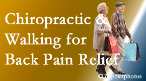 Yorkville Chiropractic and Wellness Centre encourages walking for back pain relief in combination with chiropractic treatment to maximize distance walked.
