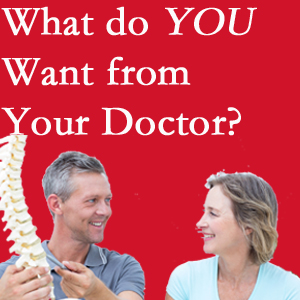 Toronto chiropractic at Yorkville Chiropractic and Wellness Centre includes examination, diagnosis, treatment, and listening!