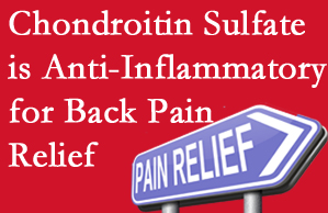 Toronto chiropractic treatment plan at Yorkville Chiropractic and Wellness Centre may well include chondroitin sulfate!
