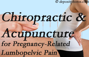 Toronto chiropractic and acupuncture may help pregnancy-related back pain and lumbopelvic pain.