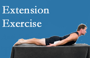 Yorkville Chiropractic and Wellness Centre recommends extensor strengthening exercises when back pain patients are ready for them.