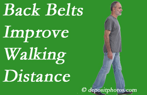 Yorkville Chiropractic and Wellness Centre sees value in recommending back belts to back pain sufferers.